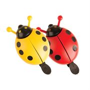 Adie Ladybird Bell (Assorted Red & Yellow)