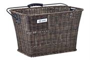 Adie Rattan Brown Shopping Basket