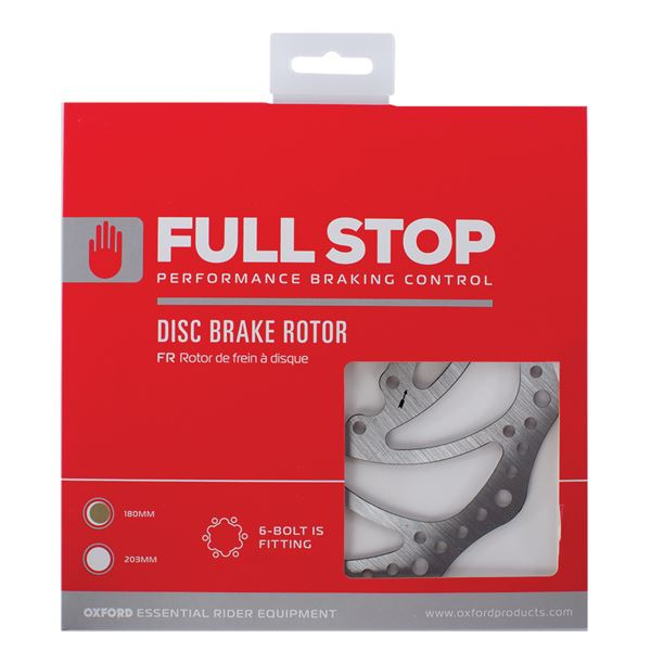 Oxford FullStop Brake Disc Rotor