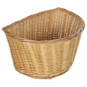 "11"" Small D Wicker Basket"