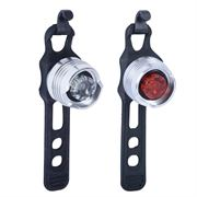 Oxford BrightSpot LED Lights Silver Pair