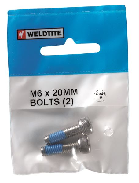 08022 Bolts M6 x 20MM