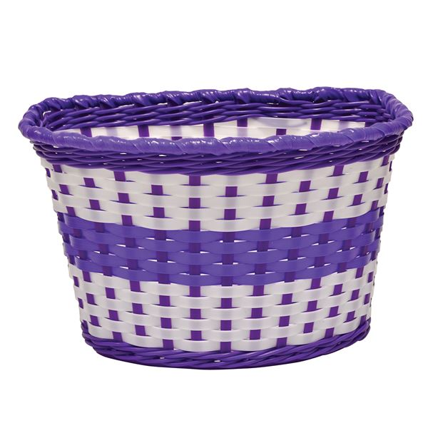 Junior Woven Basket - Lilac