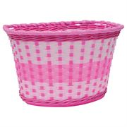 Oxford Junior Woven Basket - Pink
